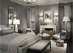 died and gone to master bedroom heaven. Benjamin Moore Gull Wing Gray Benjamin moore gull wing gray