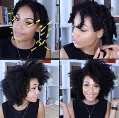 ***Try Hair Trigger Growth Elixir*** ========================= {Grow Lust Worthy Hair FASTER Naturally with Hair Trigger} ========================= Go To: www.HairTriggerr.com =========================        One of My Fav Go To Styles:  Twist Out Via 2 Strand Twists with Perm Rods on Ends!!!