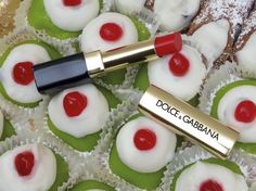 #DGMissSicily stands out amongst the colourful Sicilian pastries. #DGBeauty