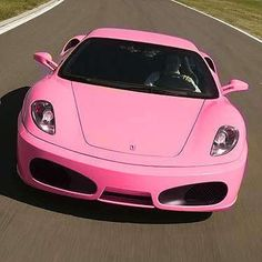 Pink #Ferrari - #Girly