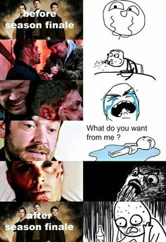 My exact reactions to the season 9 finale