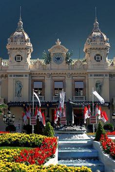 Casino de Monte Carlo, Monaco- taking a train here was quite the experience.
