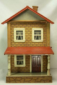 Antique Schoenhut Doll House c1915   eBay .....Rick Maccione-Dollhouse Builder www.dollhousemansions.com