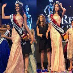 """Qué alegría! Sonia Luna se convirtió en Reina de Guayaquil 2017. FELICIDADES.  Además se llevó las bandas de """"Mejor Rostro"""" y """"Belleza de Mujeres"""" ."""