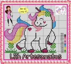 1 million+ Stunning Free Images to Use Anywhere Cross Stitch Horse, Unicorn Cross Stitch Pattern, Cross Stitch Borders, Cross Stitch Baby, Modern Cross Stitch Patterns, Cross Stitch Charts, Cross Stitch Designs, Cross Stitching, C2c