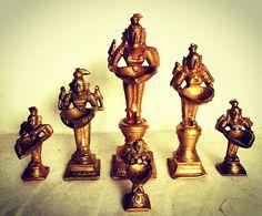 Paavai Lamps - Overview by Indian Antique Quest: Antique Curio Etailer