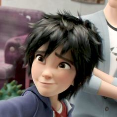 "Hiro Hamada: ""How can you say no to this face?"" um actually very easily I just choose not to"