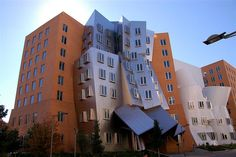 Frank Gehry building at MIT in Cambridge, Massachusetts