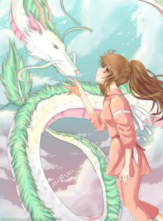 Dragón Haku & Chihiro