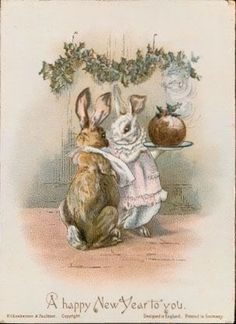 Did you know that Beatrix Potter's first published works were greetings cards? In accordance with her parents' Unitarian beliefs, Christmas was acknowledged rather than celebrated in the Kensington household Beatrix Potter grew up in. Lapin Art, Beatrix Potter Illustrations, Beatrice Potter, Peter Rabbit And Friends, Rabbit Art, Rabbit Life, Bunny Art, Children's Book Illustration, Woodland Illustration