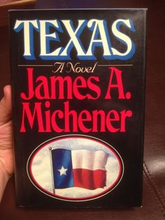 Texas By James A. Michener Hc Dj Great Condition 1985 1st Edition Npc Nice from $4.99