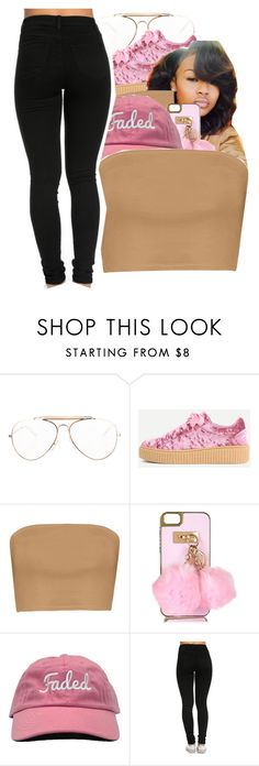 """""""I Tried"""" by trillest-kid ❤ liked on Polyvore featuring CÉLINE, Boohoo and River Island"""
