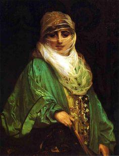 Femme De Constantinople - Jean-Léon Gérôme (French)