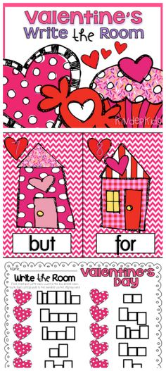 Write the Room Valentine's Theme:  Find, read, and record each sight word in the correct word box.  Makes learning fun especially for those kinesthetic learners! $