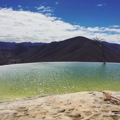 #Oaxaca travel diary is live on the blog  @coedue_style www.coedue.com #magicplace #pueblomagico #mexico #instatravel #hierveelagua by amanda_coedue