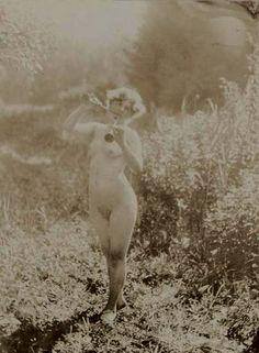 Alphonse Marie Mucha. Untitled (Study of nude) 1910