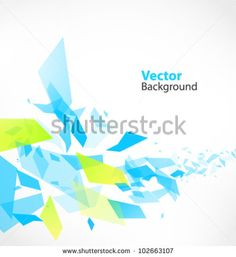 Abstract Vector Background with debris