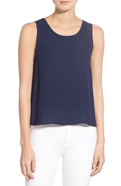 cupcakes and cashmere Wist Chiffon Layer Tank Only $85.00   On Sale Now
