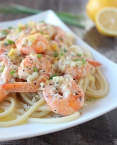 Dairy Free Lemon Butter Garlic Shrimp Recipe with @MeltOrganic