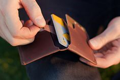 Won't buy it, but I like it: Slim Sleeve Wallet - Slim Leather Wallets by Bellroy