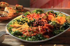 Somerson Uitpakslaai met Lemoen en Heuning Vinaigrette South African Recipes, Ethnic Recipes, Guilt Free, Vinaigrette, Free Food, New Recipes, Houston, Veggies, Healthy