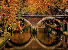 Bridge in Fall colors