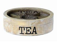 Riverdale Teabox Rond Naturel 30cm