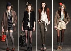 they may be from J.Crew's fall 2010 line, but i will not tire of these perfectly styled ensembles.