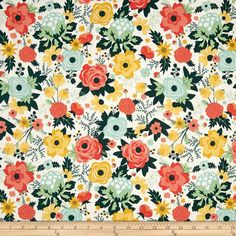 Designed by Riley Blake this cotton print fabric is perfect for quilts home decor accents craft projects and apparel.