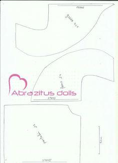 By Abrazitus Doll - molde Handmade, Community, Patterns, Crochet, Photos, Ideas, Dolls Dolls, Fabric Dolls, Bunny