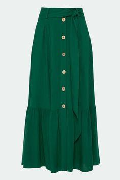 Modest Outfits, Skirt Outfits, Modest Fashion, Hijab Fashion, Cute Outfits, Fashion Outfits, Womens Fashion, Blouse Dress, Dress Skirt