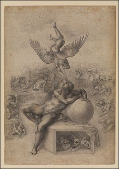 The Dream is considered one of the finest of all Renaissance drawings - A series of drawings which Michelangelo made for a younger man he is thought to have fallen in love with, have gone on display at London's Courtauld Gallery.