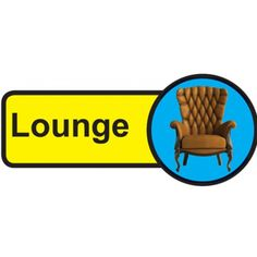 Lounge Dementia Sign, help people with dementia and sight problems by displaying these 'Lounge Dementia' signs around your premises, they assist in maintaining their independence, just peel off the backing strip and stick to your doors. Dementia Care Homes, Signs Of Dementia, Plastic Signs, Sign Materials, Fire Safety, Sign Design, Adhesive Vinyl, Helping People, Lounge