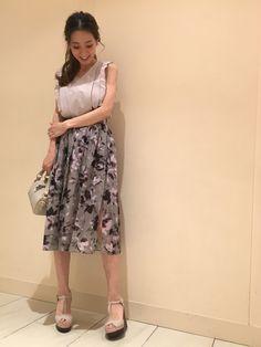 yukaさんのシャツ/ブラウス「JILLSTUART カミールブラウス」を使ったコーディネート