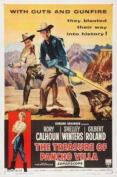 Rory Calhoun movie | movie posters | The Treasure of Pancho Villa Movie Posters From Movie ...