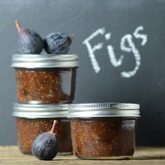 A Brown Table - Every Meal Should Be Simple but Exciting: spiced fig preserves