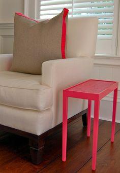 Hot Pink Tini Table III