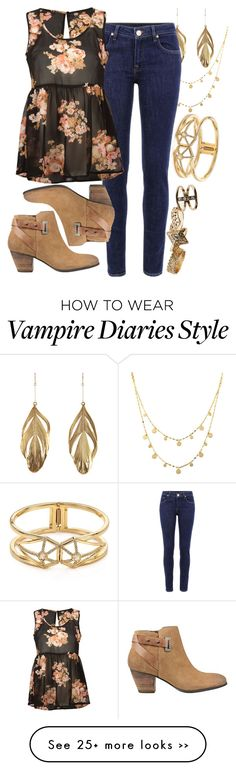"""Bonnie Wright: The Vampire Diaries"" by xxxmakeawish on Polyvore"