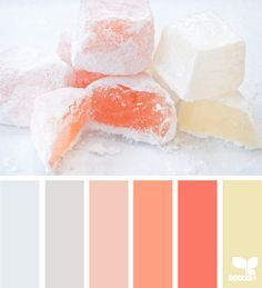 This week's Color Palette of the Week is {sweetened} tones. Please pin beautiful pictures showcasing the colors in this week's palette. Colour Pallete, Colour Schemes, Color Patterns, Color Combinations, Color Palettes, Pantone, Stoff Design, Design Seeds, Colour Board