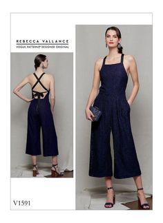 35826ccbda7 Sewing Pattern for Misses   Misses Petite Jumpsuit
