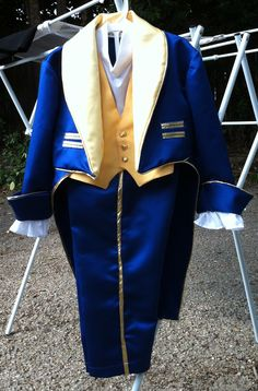 beasty boy beauty and the beast costume blue tuxedo