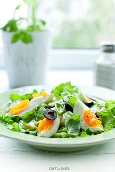 Avocado, Cucumber & Egg Salad