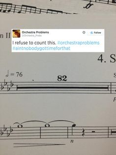 This. | 25 Problems Only People Who Have Played In A School Orchestra Will Understand... Band as well