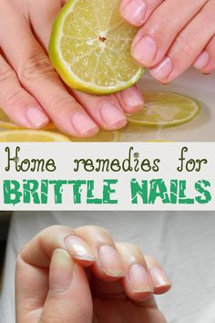 Brittle nails? Say goodbye to them for good! Here are some natural recipes that do wonders for your nails. You've got to try them!
