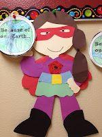 Earth Day superhero activity
