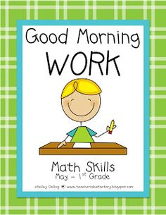 112 best grade- morning work images in 2013 обучение чте Morning Work, Good Morning, Work Images, Senior Home Care, Good Day Song, Education English, Common Core Standards, Grade 1, Second Grade