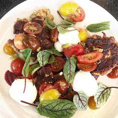 Bawa Cafe Hawthorn Breakfast: Cauliflower hash beetroot relish pickled tomatoes whipped ricotta @therubycanvas #thefoodcanvas #bawacafe #bawa by thefoodcanvas