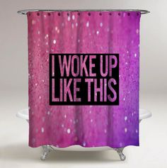 "Hot Rare Beyonce Quote Pink Glitter Custom Print On Shower Curtain 60"" x 72""  #Unbranded #Modern #showercurtains #bathroom #accessories #polyester #cheap #new #hot #rare #best #bestdesign #luxury #elegant #awesome #bath #newtrending #trending #bestselling #sell #gift #accessories #fashion #style #women #men #kid #girl #birthgift #gift #custom #love #amazing #boy #beautiful #gallery #couple #bestquality #beyonce #quote"