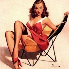 EnLove with Life: 1950s Pin Ups
