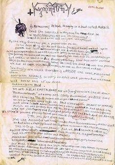 letter by per yngve ohlin (Dead)